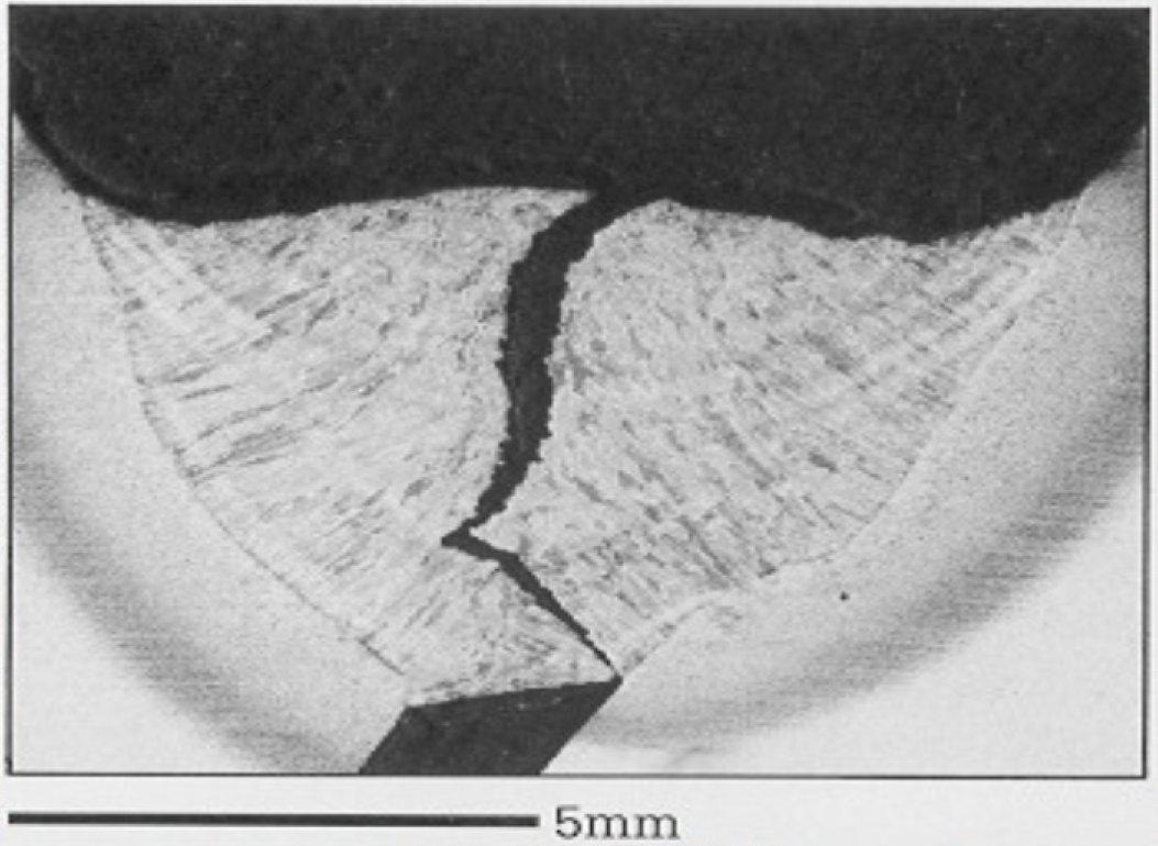 Macro Defects In Steel Welding With Diagram Cold Crack